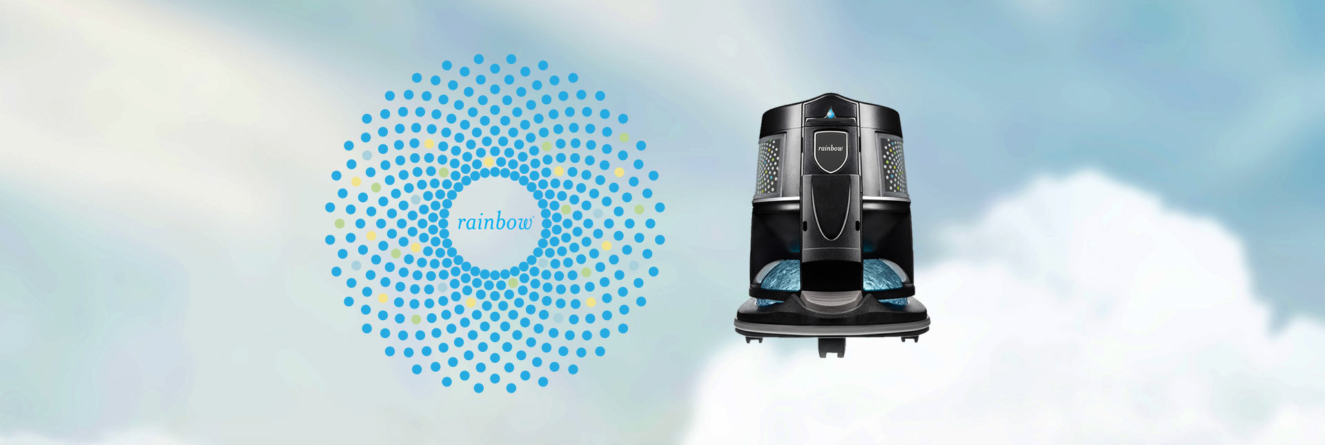 The Rainbow SRX has a powerful air cleaning capability that